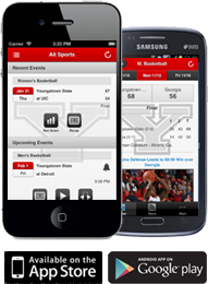 YSU Front Row Mobile App ad