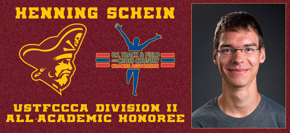 Henning Schein Earns USTFCCCA Academic All-Region Honors