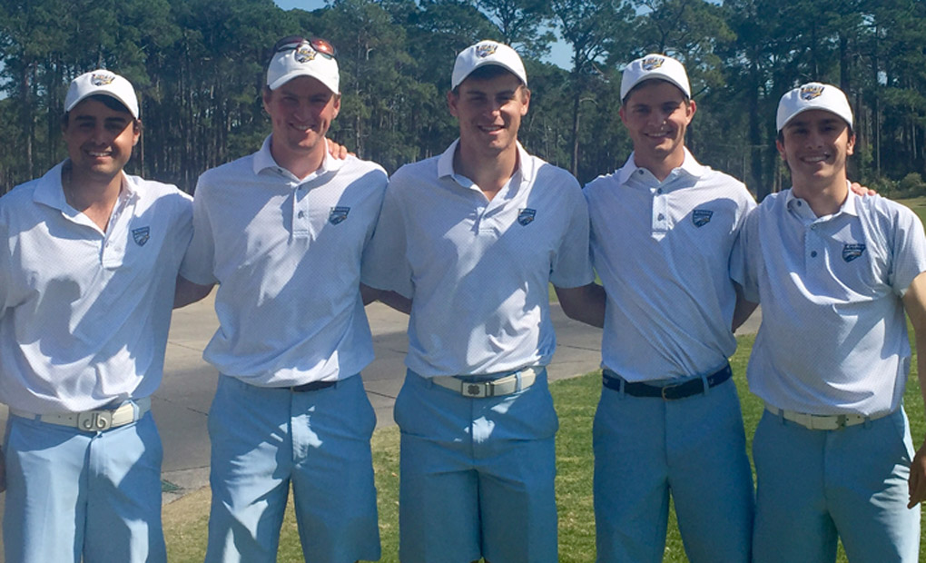Emory Golf First After Two Rounds At Jekyll Island