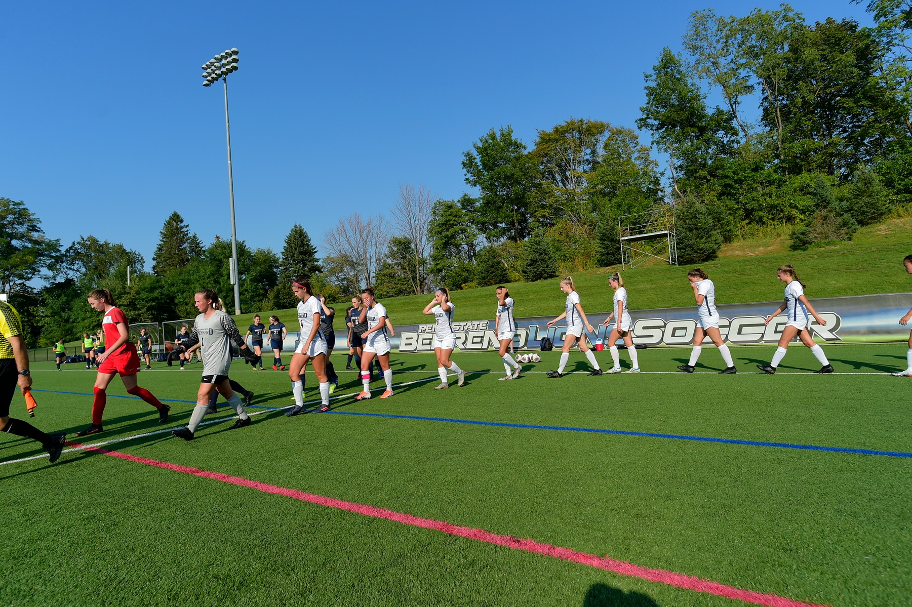 Women's Soccer Ready To Compete For Ninth Straight AMCC Title; Lions Host Mt. Aloysius Wednesday