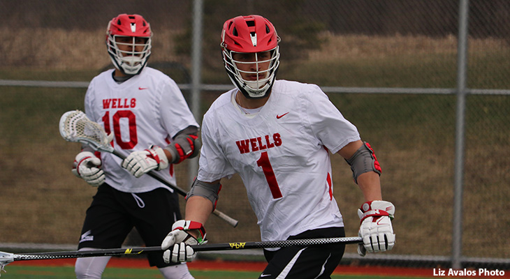 Fast Start Sends Keuka Past Wells Men's Lacrosse