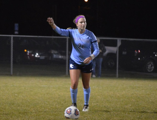 Townsend Ties Women's Soccer Season Scoring Record, Wilfong Notches Hat Trick