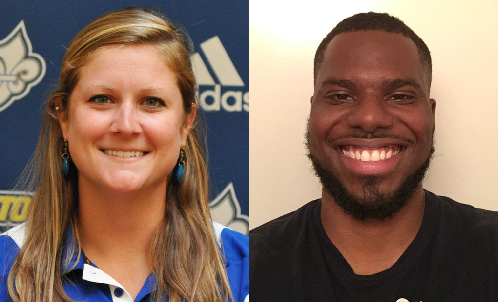 Holli Dawson & Chris Blocker Join Emory Athletics Training Staff