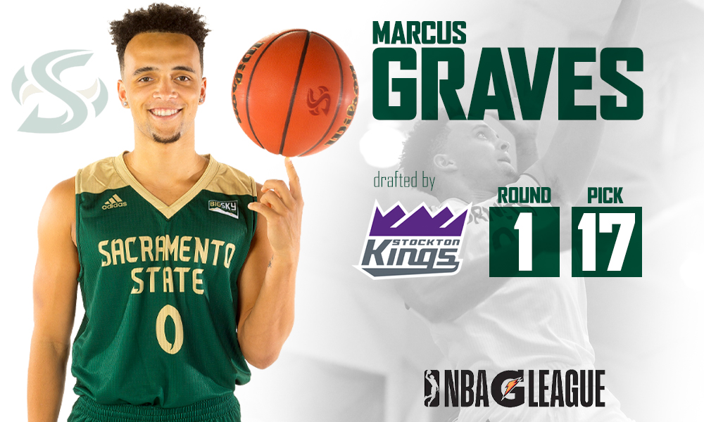 GRAVES DRAFTED IN FIRST ROUND OF THE G LEAGUE DRAFT BY THE STOCKTON KINGS