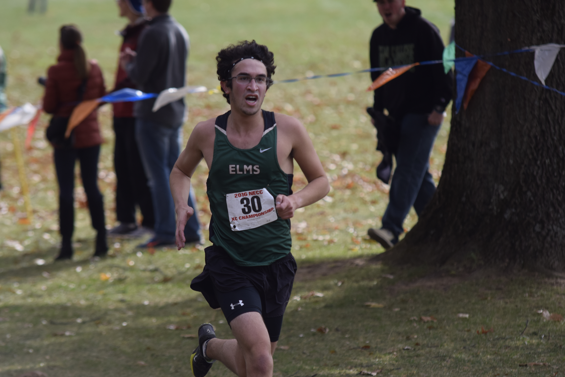 Men's Cross Country Races At NECC Championship