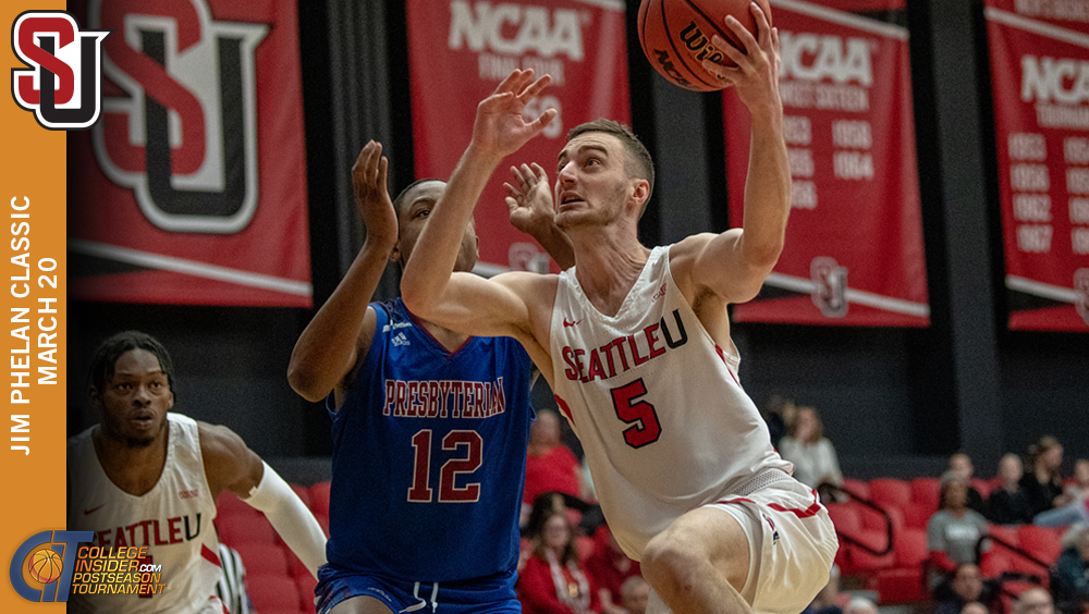 Seattle U Falls to Presbyterian in CIT