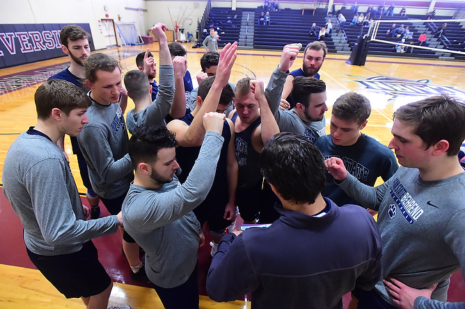 Men's Volleyball Hosts Neumann Saturday; Travel to Wells on Sunday