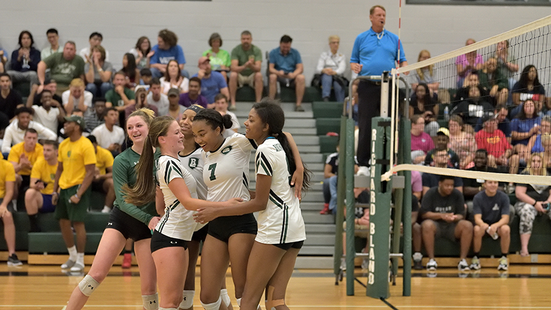 Volleyball Sweeps the Field at Eagles Invitational