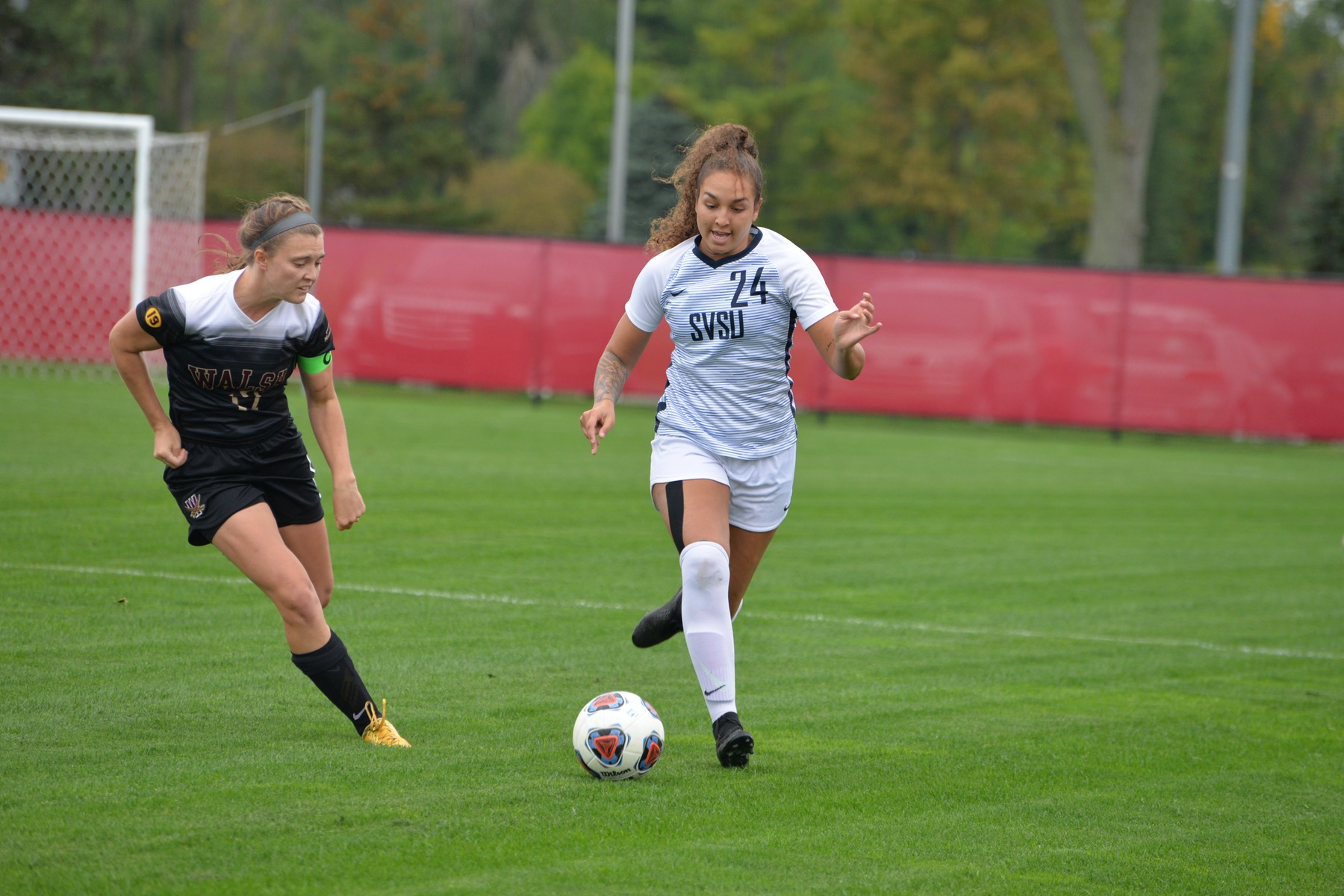 Weather Delay Postpones Women's Soccer Play at Grand Valley State
