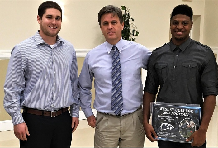 Wesley Football awards told at annual banquet