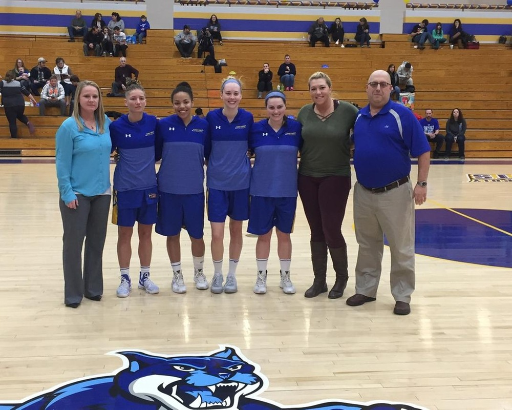 WBB: Wildcats Finish Regular Season With a 50 Point Win Over Berks on Senior Day.