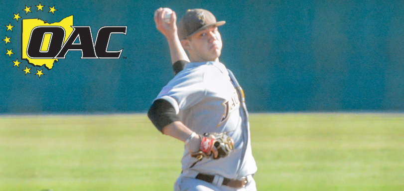 Lovick Earns Second Career OAC Baseball Pitcher of the Week Accolade