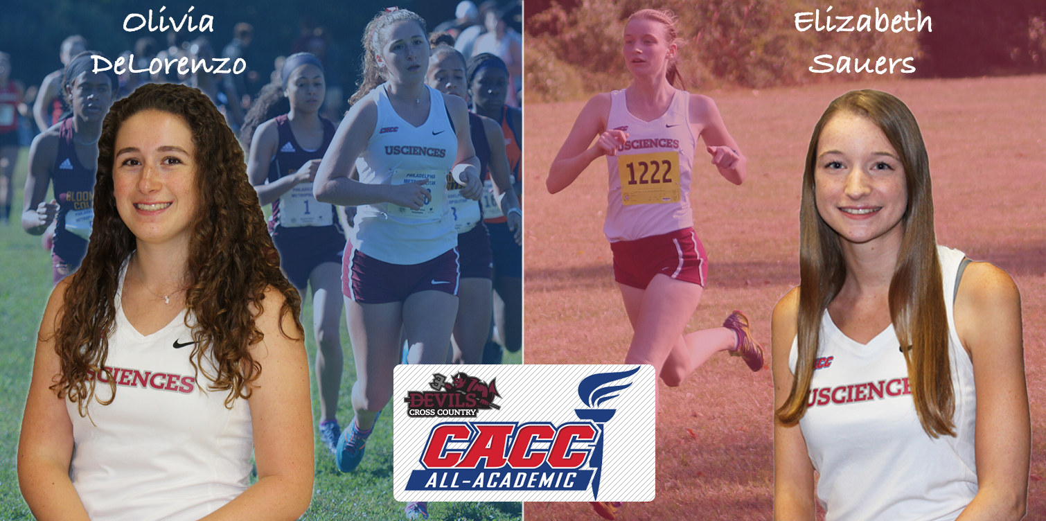 DeLorenzo and Sauers Make Third and Final Appearance on CACC All-Academic Team
