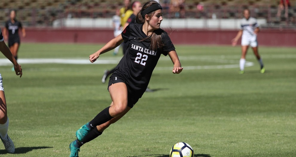 Women's Soccer Stays on the Road for Gonzaga Sunday