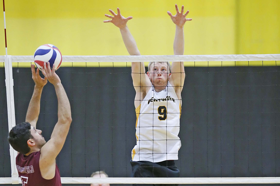 Reed Reaches Milestone in Men's Volleyball's Tri-Match Split
