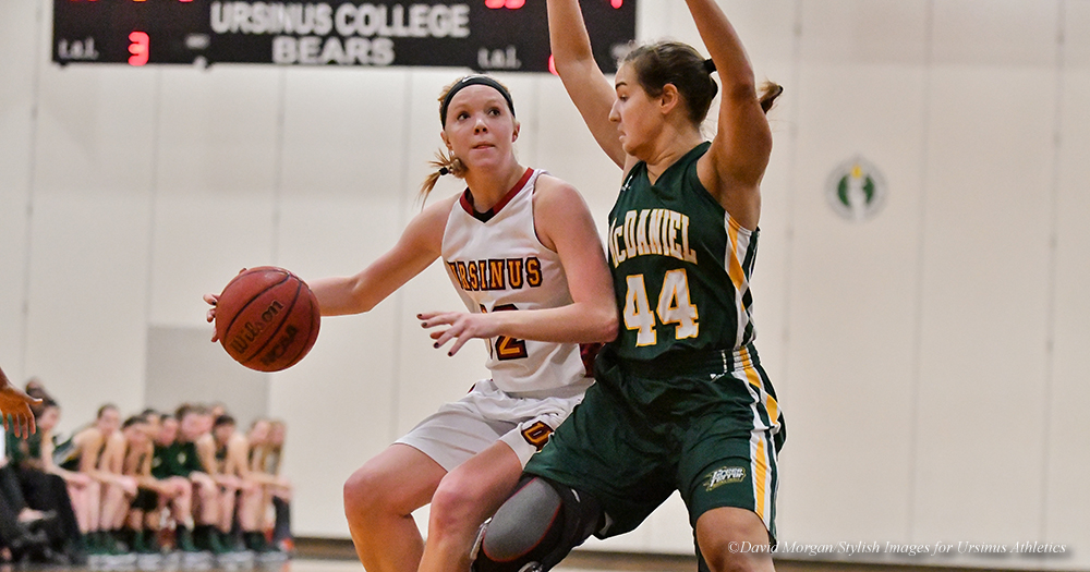Women's Basketball Stymied at McDaniel