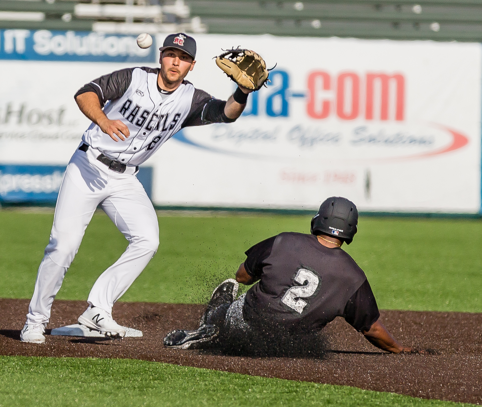 Rascals Sizzle Early, Fizzle Late in Loss