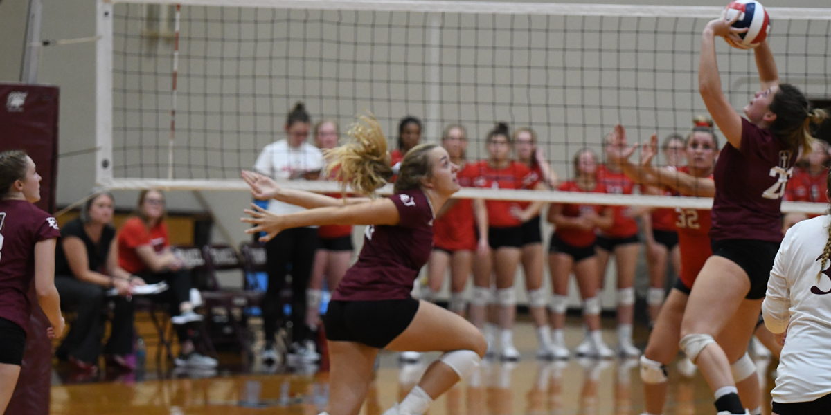 Evangel Volleyball Grinds to 3-2 Road Win at Mount Mercy