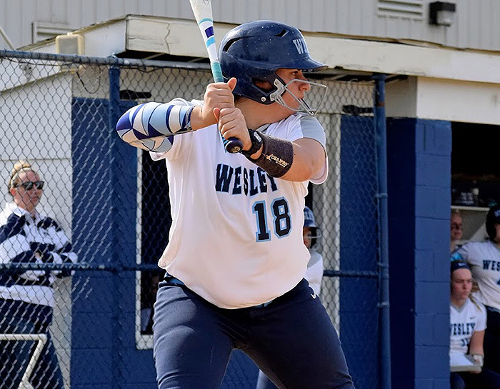 Wesley splits CAC doubleheader with Mary Washington