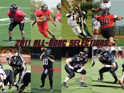 Eight named to 2011 All-ODAC Teams