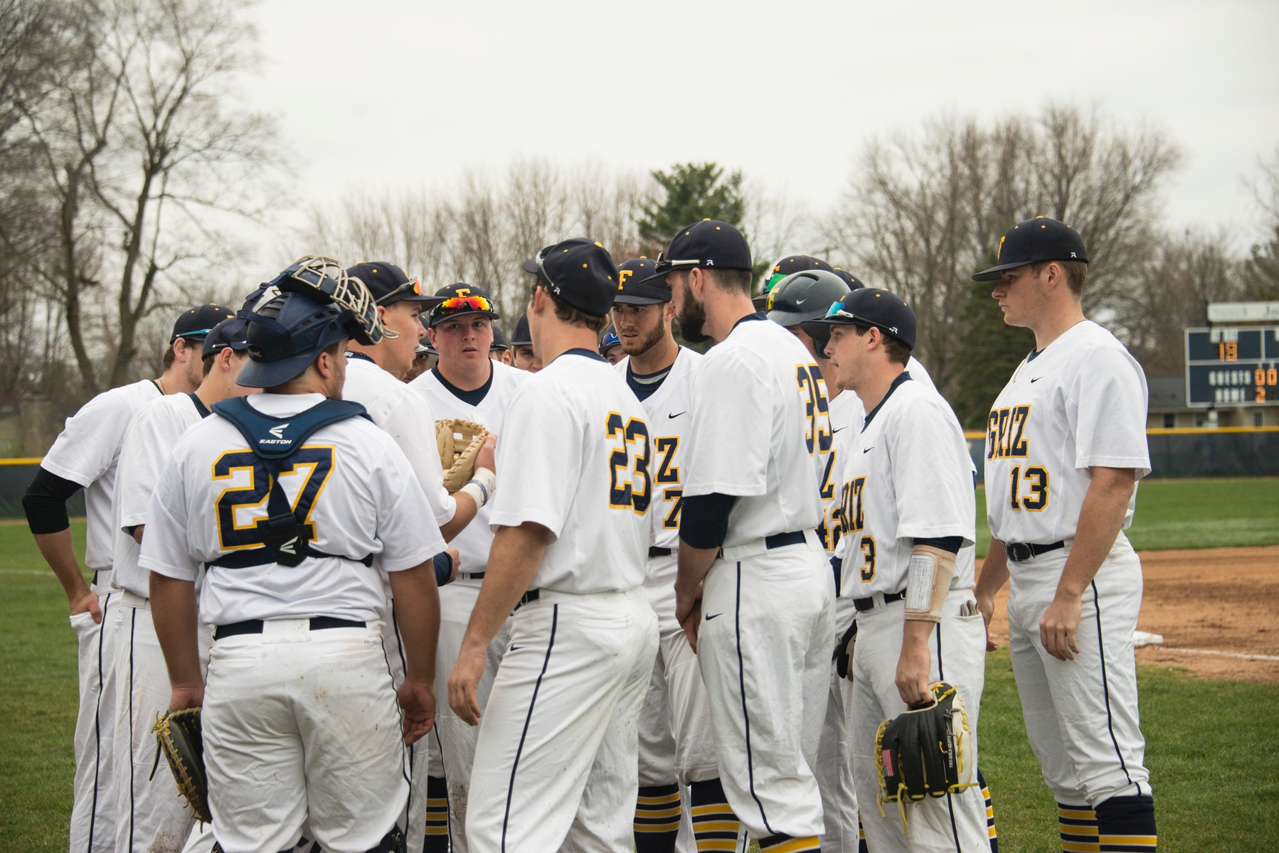 Baseball Team Loses To Rose-Hulman