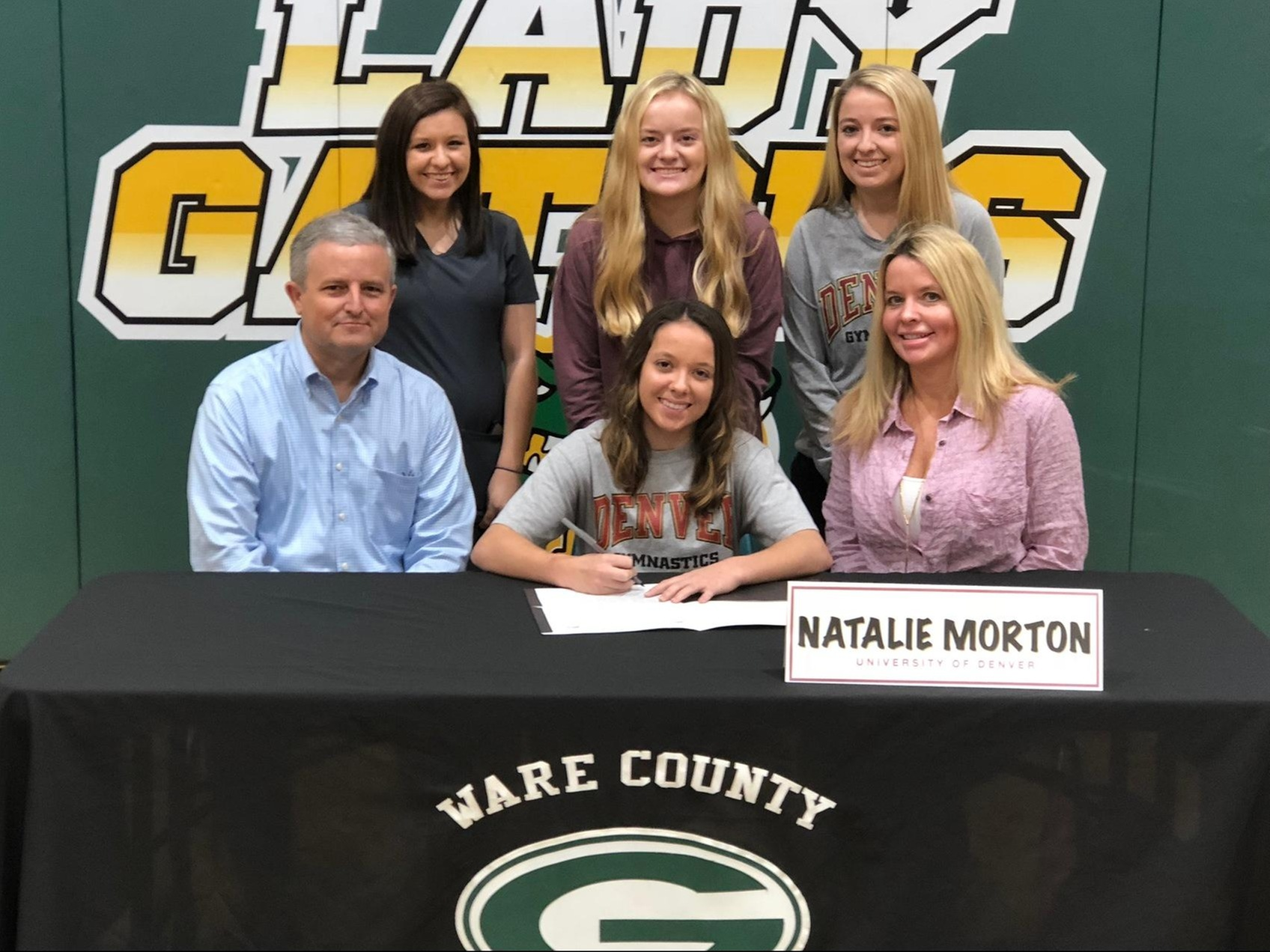 Natalie Morton Signs Scholarship With The University of Denver