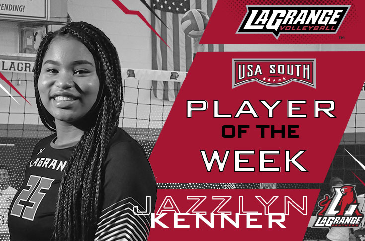 2018-19 in Review: Volleyball's Jazzlyn Kenner named USA South Player of the Week for two straight weeks