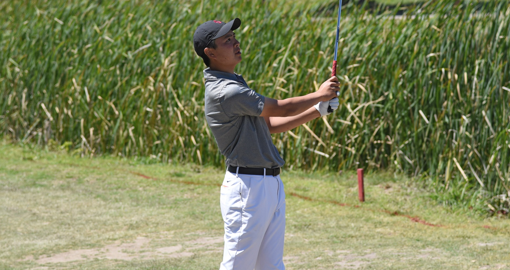 Solid Back Nine Helps Men's Golf Stay in Contention After 36 Holes at WCC Championships