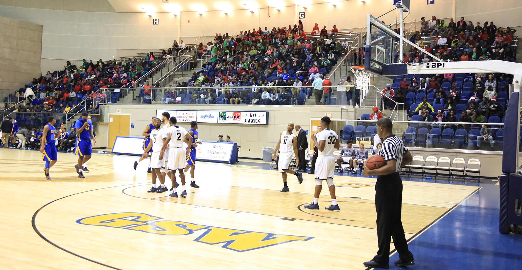 GSW Rallies For Win In Packed Storm Dome