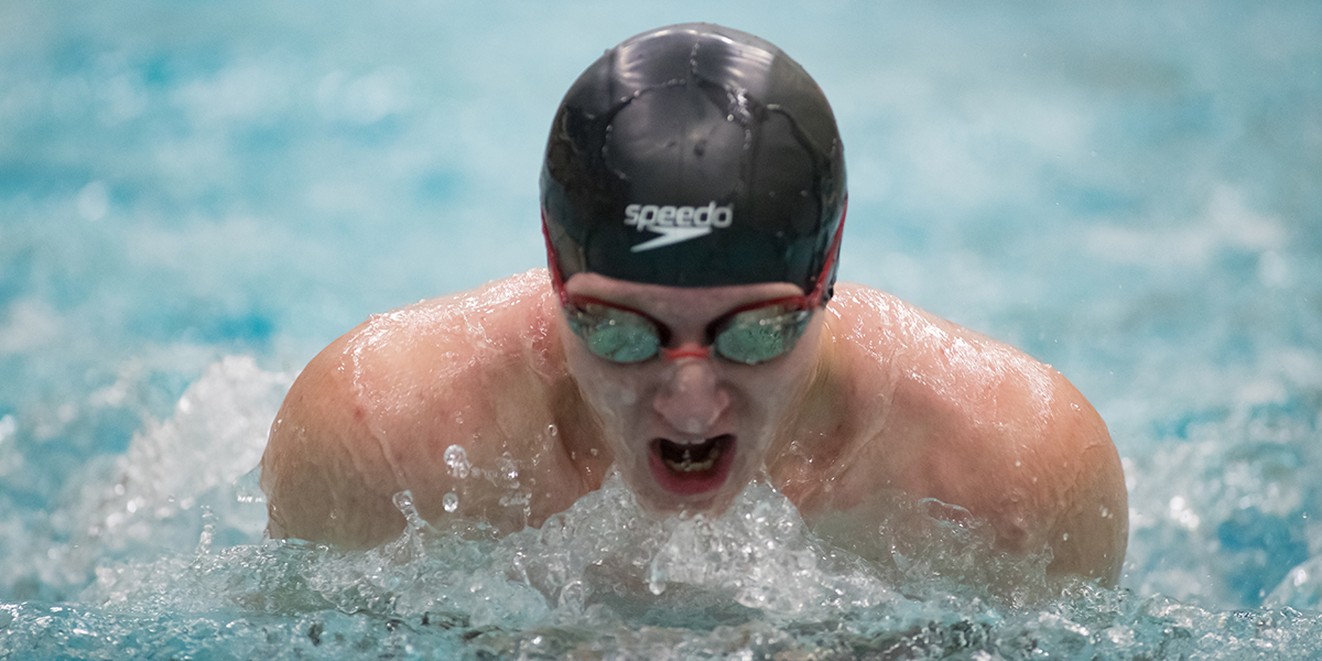 Steven Johnston Sets 100 Free Mark in Day Two Prelims of the 2019 GNAC Championship