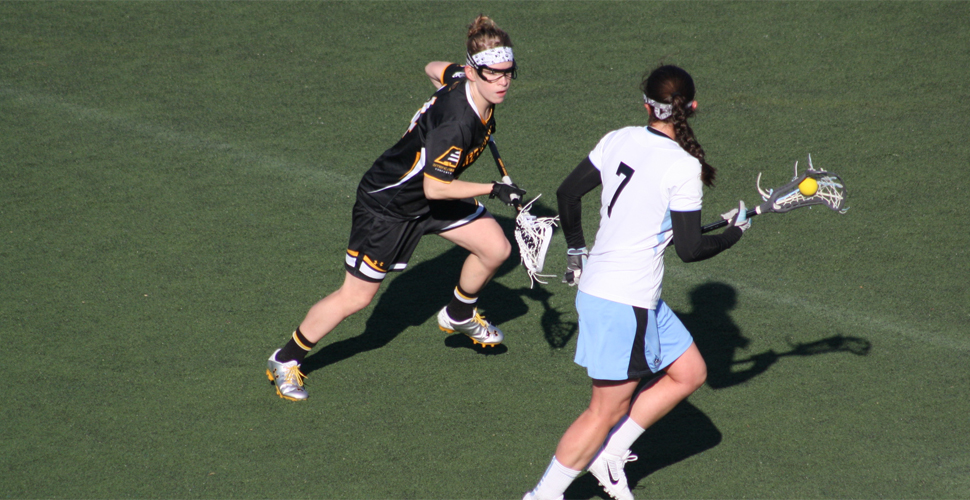 Women's Lacrosse Slumps in Second Half Versus No. 7/5 Johns Hopkins