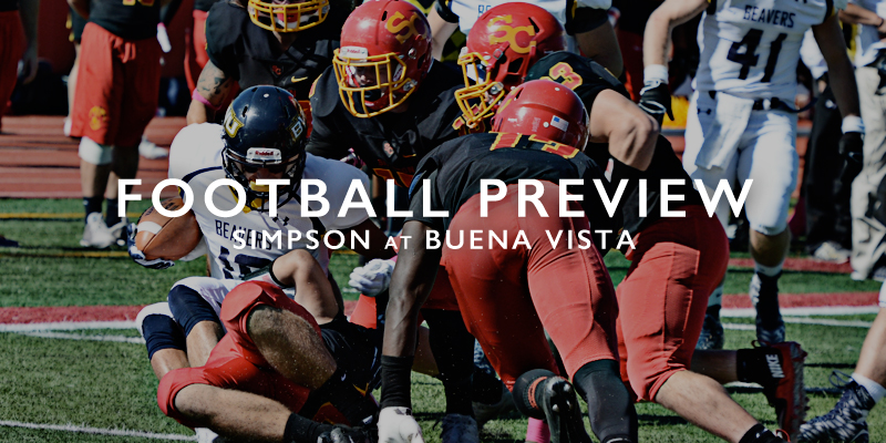 FOOTBALL PREVIEW: Simpson at Buena Vista