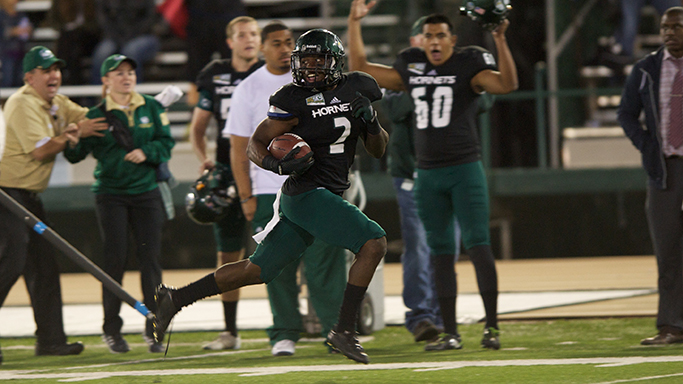 FOOTBALL STORMS BACK FOR 48-41 WIN OVER PORTLAND STATE