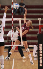 Santa Clara Volleyball Defeats Utah 3-0