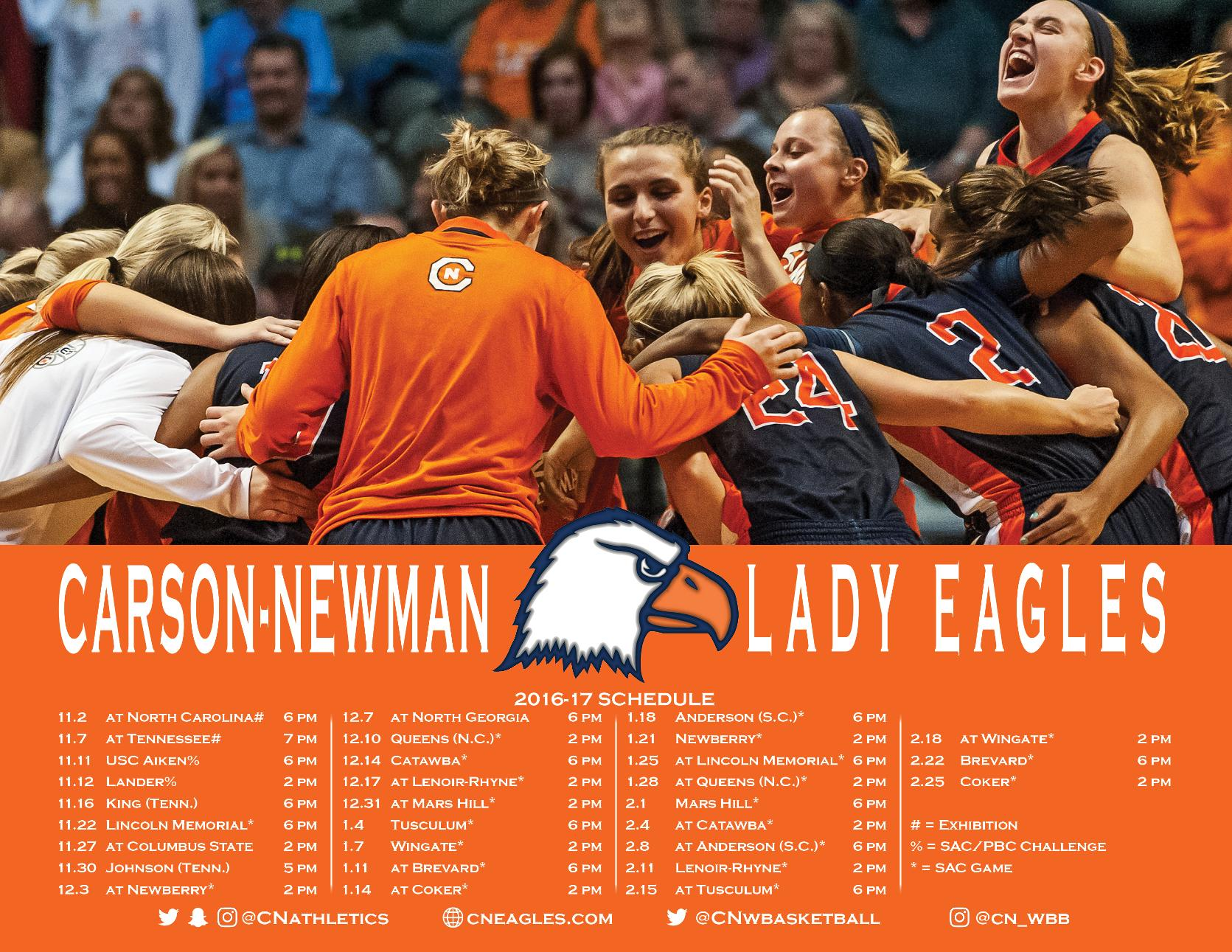 Lady Eagles debut balanced 2016-17 schedule