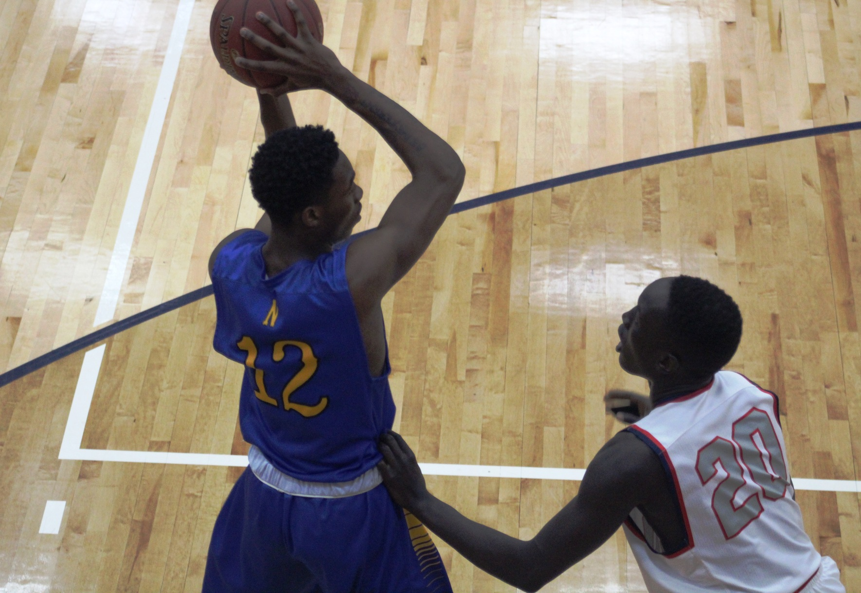 NIACC's Wendell Matthews looks to make a move during a conference game in Southwestern in December.