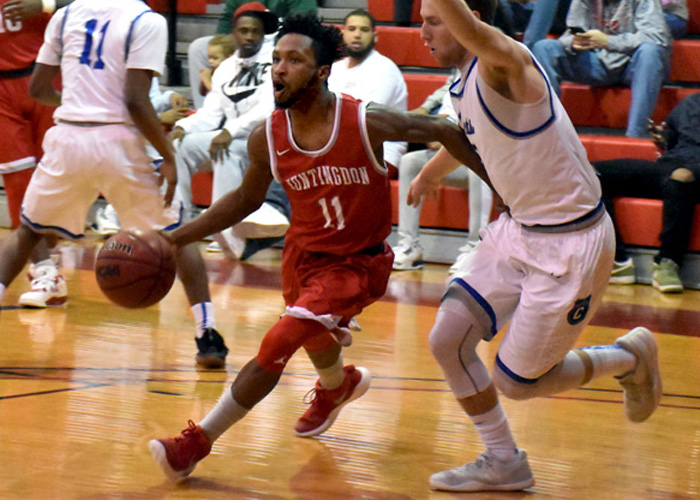 Aaron Washington scored nine points in Saturday's loss at Covenant.