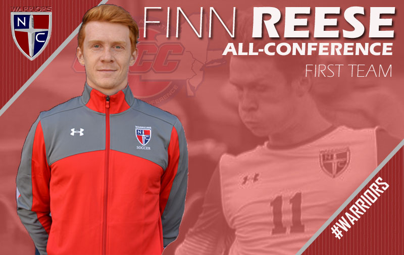Senior Finn Reese Has Been Named to the CACC All-Conference First Team