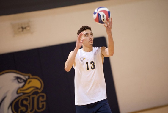Men's Volleyball Suffers Pair of Non-Conference Losses in Saturday Tri-Match