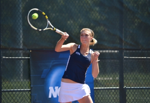 UMW Women's Tennis Sweeps Grove City, 5-0, in NCAA Tournament First Round