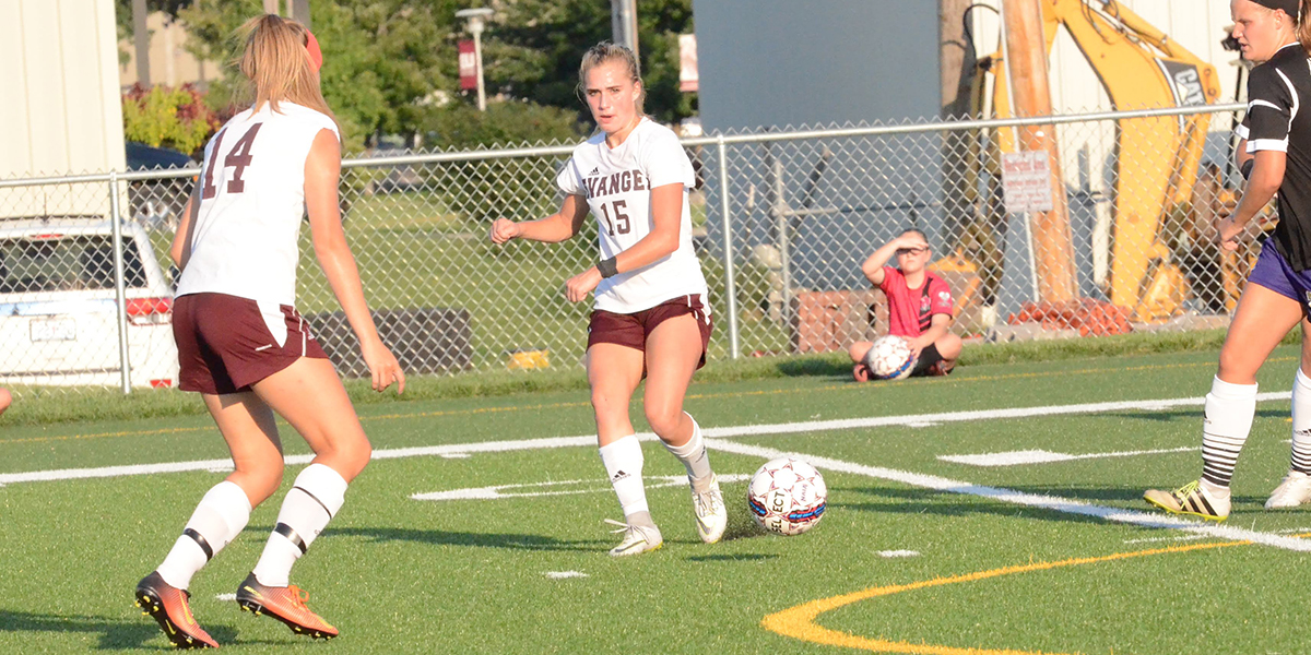Hat Trick from Bianca Biffert Lifts Women's Soccer to OT Win at Culver-Stockton