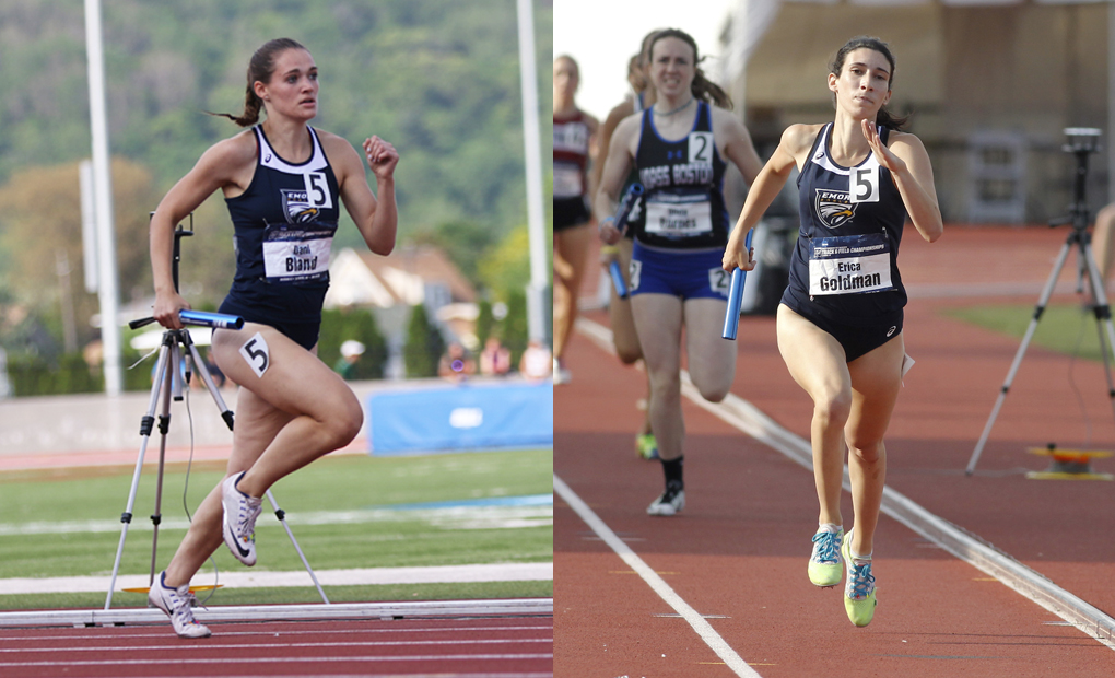 Goldman, Bland Compete on Day Two of NCAA Championships; Bland Advances to 100m Dash Final
