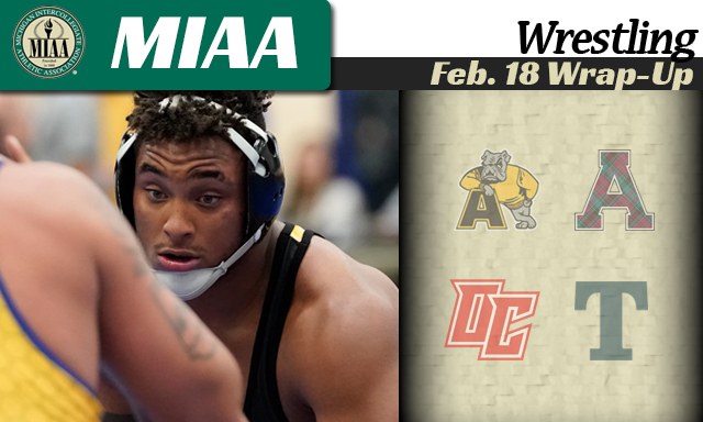 MIAA Wrestling Feb. 18 Wrap-Up