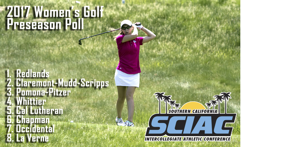 Redlands Notches Top Spot in SCIAC Women's Golf Preseason Poll