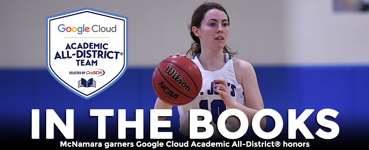 McNamara Garners Google Cloud Academic All-District® Honors