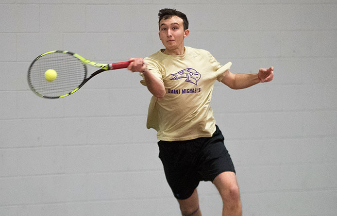 Men's Tennis Loses 6-3 Decision at NE10 Foe Saint Anselm