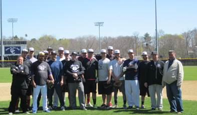 Curry College Baseball Hosts Alumni Game