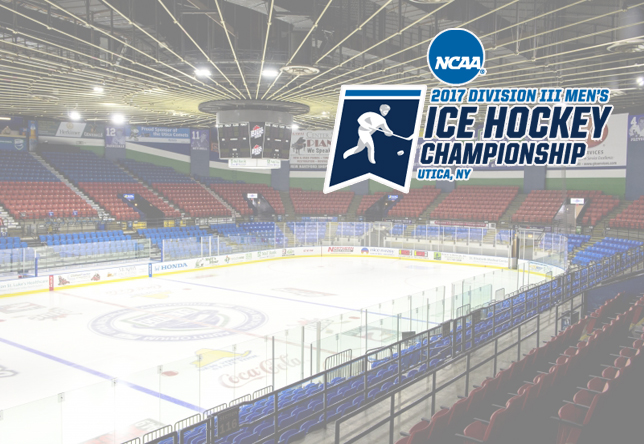 Norwich heads to Utica, N.Y. for 2017 Division III Men's Ice Hockey Championship/Ticket Info.