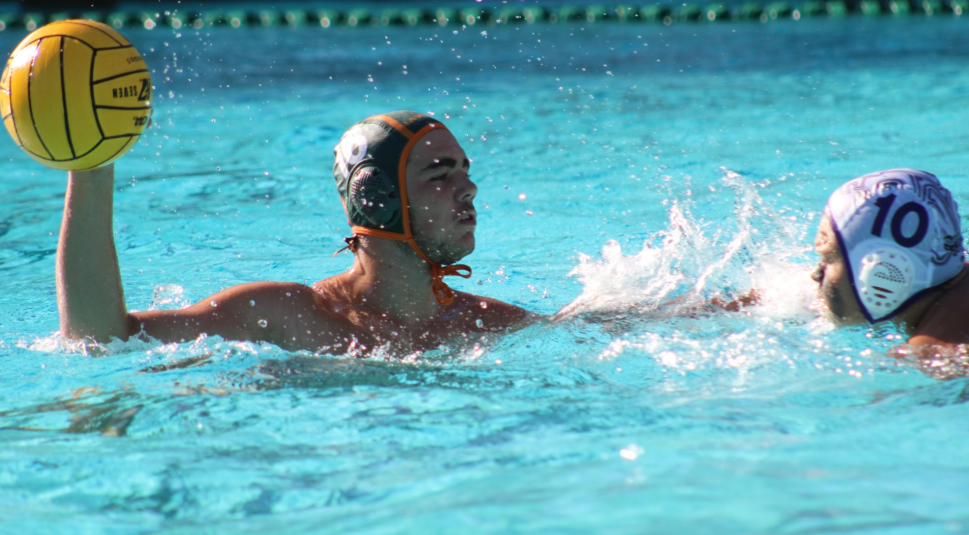 Men's Water Polo scores first SCIAC win