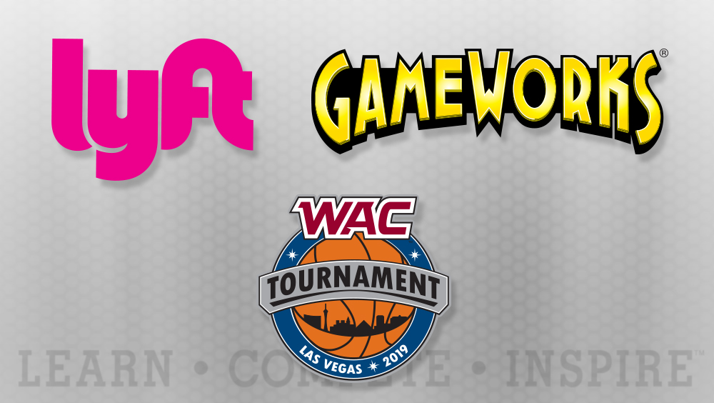 Lyft, GameWorks Announced as Sponsors of 2019 WAC Basketball Tournament